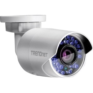 TRENDnet Outdoor 1.3 MP HD WiFi IR Network Camera IP66 Bullet 30M Night Vision IR 100