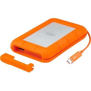 LaCie Rugged 1TB SSD Thunderbolt USB3.0 External Hard Drive