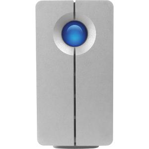 LaCie 2BIG Quadra USB3.0 1394a 1394B 6TB External Hard Drive