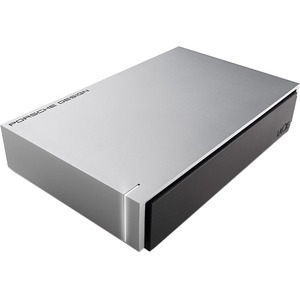 LaCie Porsche Design P9233 5TB 3.5in USB 2.0/3.0 Dark Aluminum Casing Desktop Hard Drive for MAC