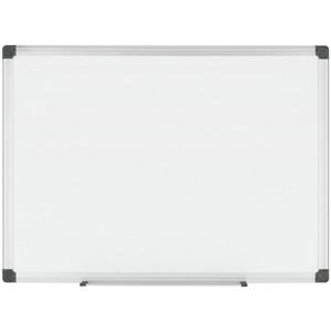 Bi-silque S.a Bi-silque Porcelain Magnetic Dry Erase Board - 72 (6 Ft) Width X 48 (4 Ft) Height - White Porcelain Surface - Silver Aluminum Frame - Rectangle - Horizontal/vertical - Mount - 1 Each