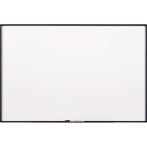 Acco Brands Corporation Quartet® Fusion Nano-clean Magnetic Whiteboard - 48 (4 Ft) Width X 36 (3 Ft) Height - White Surface - Black Aluminum Frame - Horizontal/vertical - 1 Each