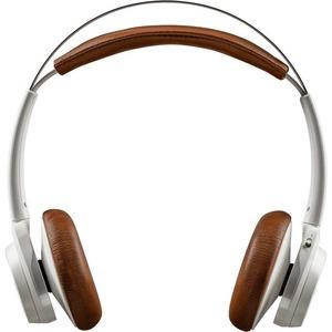 Plantronics Backbeat Sense Wireless Bluetooth Headphones - White / Tan