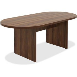 Chateau Series Walnut Oval 6' Conference Table