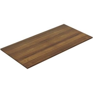 Chateau Walnut 8' Rectangular Conference Tabletop