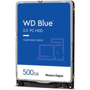 WESTERN DIGITAL BLUE 2.5inch 500GB 54000RPM SATA 6GB/S 16MB 7MM HARD DRIVE