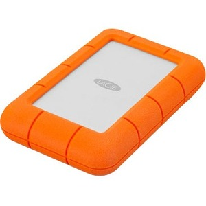 """LaCie Rugged Mini 4 TB 2.5"""" 5400 RPM USB 3.0 5 GB/S External Hard Drive"""