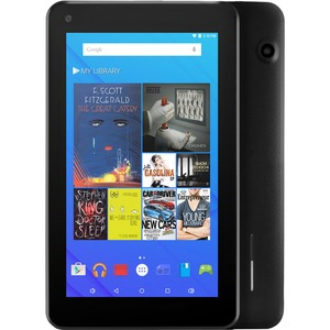 Ematic 7 HD Quad Core 16GB Black tablet