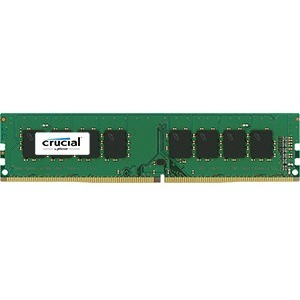 Crucial 16GB DDR4-2133 UDIMM PC4-17000 CL15 Dual Ranked 1.2V Unbuffered 288PIN Memory