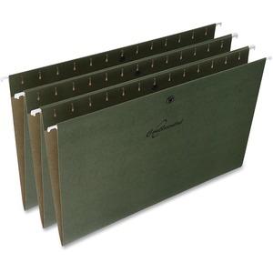 Snap Standard Green Hanging File Folders