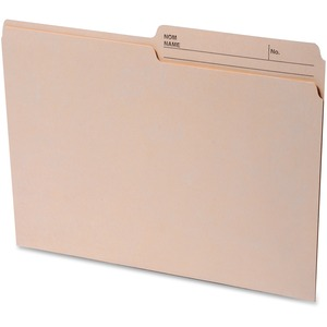 2-sided Tab Letter File Folders