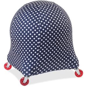 Evolution Chair Ball Chair Polka Dot Cozy Slipcover