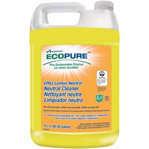 Ecopure 4L Lemon Neutral Cleaner (4/Cs)