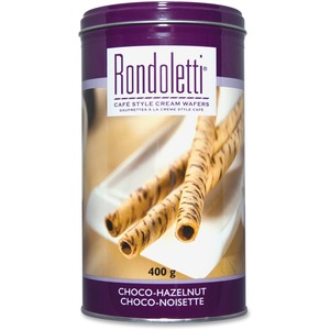 Cafe Style Choco-Hazelnut Cream Wafers