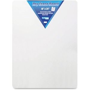 Flipside Products, Inc Flipside Unframed Dry Erase Board - 18 (1.5 Ft) Width X 24 (2 Ft) Height - White Surface - Rectangle - 1 Each
