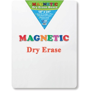 Flipside Products, Inc Flipside Magnetic Dry Erase Board - 18 (1.5 Ft) Width X 24 (2 Ft) Height - White Surface - Rectangle - 1 Each