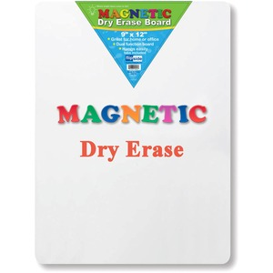 Flipside Products, Inc Flipside Magnetic Dry Erase Board - 9 (0.8 Ft) Width X 12 (1 Ft) Height - White Surface - Rectangle - 1 Each