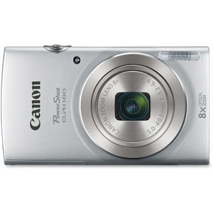 Canon PowerShot ELPH180 Performance Style Digital Elph Cameras Silver