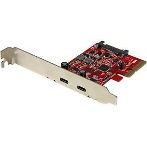 StarTech 2-Port USB 3.1 (10Gbps) Card - 2x USB-C - PCIe