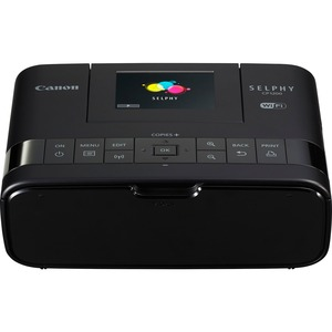 Canon SELPHY CP1200-Black Wireless Compact Photo Printer - Dye Sublimation - Res