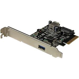 Startech 2-PORT USB 3.1 (10GBPS) Card - USB-A 1x External 1x Internal - PCIe