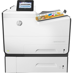 "HP Pagewide Enterprise Color 556XH 50PPM 4.3"" Touchscreen Auto Duplex Nfc Wireless Printer"
