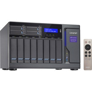 Qnap 12-Bay (8+4) Intel Core i5 16GB RAM High Performance NAS 450W PSU