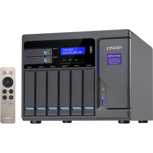 Qnap 8-Bay (6+2) Intel Core i3 8GB RAM High Performance NAS 450W PSU