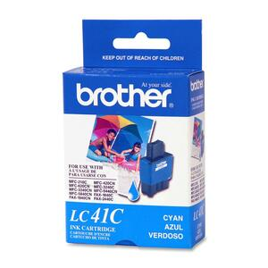 Brother Cyan Ink Cartridge - Inkjet - 400 Page - Cyan