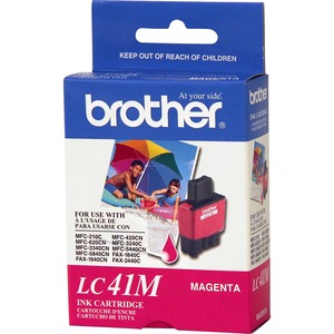 Brother Magenta Ink Cartridge - Inkjet - 400 Page - Magenta