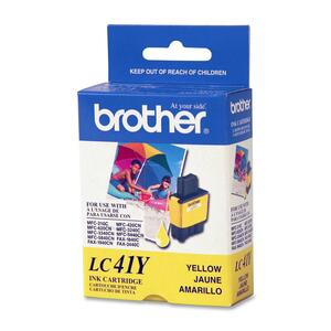 Brother Yellow Ink Cartridge - Inkjet - 400 Page - Yellow