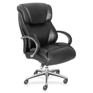 La-z-boy, Inc La-z-boy Executive Chair - Black - Faux Leather - 32.8 Width X 27.8 Depth X 45.3 Height