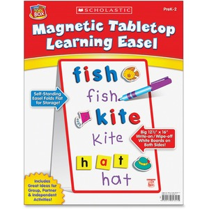 Scholastic Res. Prek-2 Magnetic Learning Easel - Tabletop - 1 Each