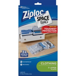 Ziploc Clothing Space Bag