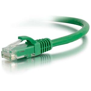C2G 1FT CAT6 GREEN SNAGLESS RJ45 M/M PATCH CABLE