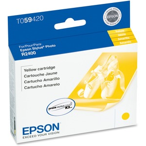 EPSON - SUPPLIES YELLOW INK CARTRIDGE FOR STYLUS PHOTO 2400