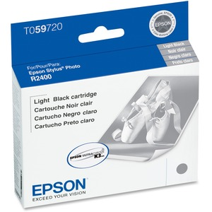 EPSON - SUPPLIES LIGHT BLACK INK CARTRIDGE FOR STYLUS PHOTO 2400