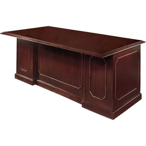 Dmi Office Furniture Dmi Governors Collection Mahogany Furniture - 72 X 30  X 36 - 5 X Keyboard Drawer(S), Box Drawer(S), File Drawer(S) - 1 Shelve(S)  ...