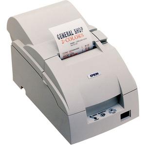 Epson TMU220A-163-Receipt Journal Printer-Dot Matrix-Color-Black Print Speed: 6