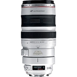 Canon EF 100-400mm f/4.5-5.6L IS USM Telephoto Zoom Lens - f/4.5 to 5.6
