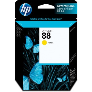 HP No. 88 Yellow Ink Cartridge - Inkjet - 860 Page - Yellow