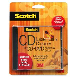 Scotch CD/DVD Lens Cleaner MMMAV101