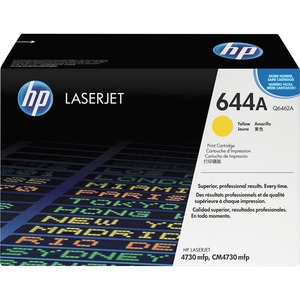 HP 644A Yellow Original LaserJet Toner Cartridge HEWQ6462A