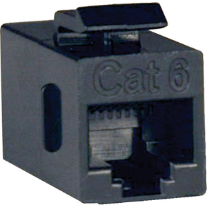 CAT6 STRAIGHT THROUGH COUPLER RJ45 (FEMALE/FEMALE)