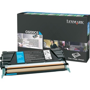 Lexmark Cyan Return Program Toner Cartridge - Laser - 3000 Page - Cyan