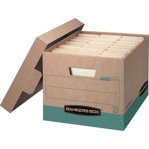 Bankers Box Recycled R-Kive - Letter/Legal - TAA Compliant FEL12775