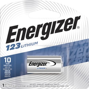 Energizer e2 EL123 Lithium Digital Camera Battery - Lithium (Li) - 1300mAh - 3V DC