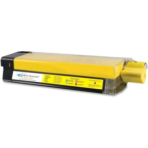 Media Sciences MS5000Y (42127401) Okidata Compatible C5100 High Capacity Toner Cartridge MDAMS5000Y