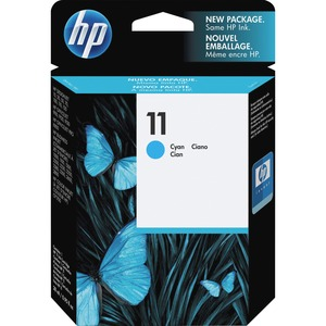 HP No. 11 Cyan Ink Cartridge - Inkjet - 750 Page - Cyan