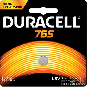 Duracell Silver Oxide Button Cell Battery - Silver Oxide - 1.5V DC